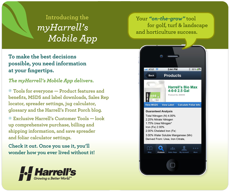 Introducing the myHarrell's Mobile App